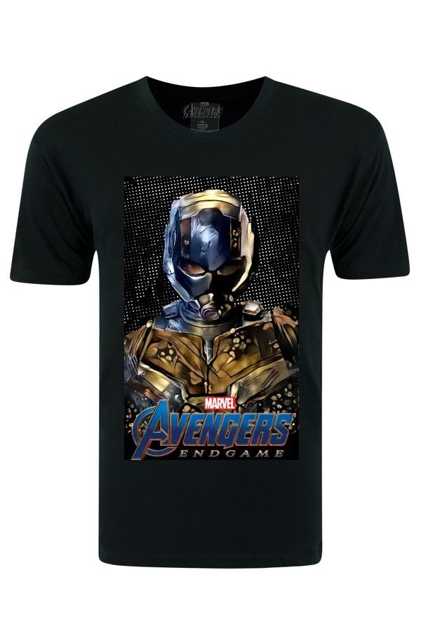 Avengers Ant Man Black T-shirt