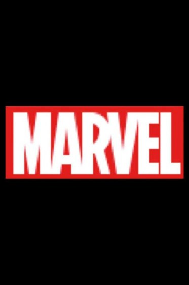 Marvel Logo Glow In The Dark T-shirt - Black