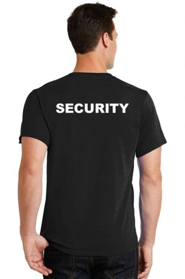 Security T-shirt - black
