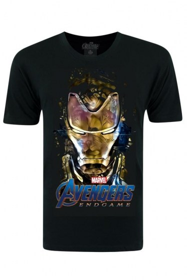 Avengers Iron Man Black T-shirt