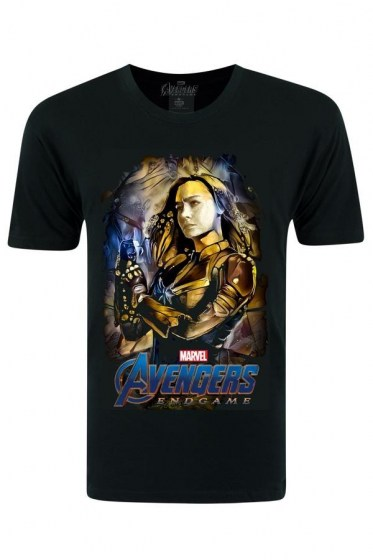 Avengers Captain Marvel End Games Black T-shirt