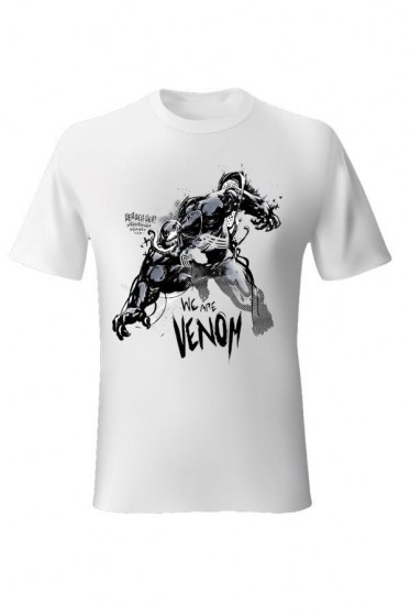 We Are Venom White T-shirt